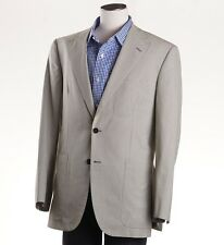 New $1795 OXXFORD 1220 Green-White Gingham Check Cotton Sport Coat 40 R