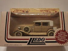 LLEDO DG19004 1931 ROLLS ROYCE PHANTOM II BREWSTER – GOLD – VERY RARE