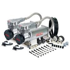 Viair 485C Dual Compressor Pack - Platinum - Pressure Switch Relays Free Ship
