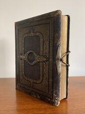 Antique Victorian leather album