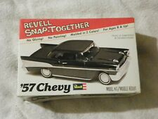 REVELL 57' CHEVY SNAP TOGETHER MODEL KIT 1:32 SCALE NO. 1101 1979