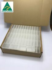 110 x Clear Plastic MINI Storage Containers with lid Boxes Small Food Grade NEW