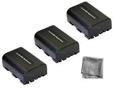 3x NP-FM50 NPFM50 Battery + BONUS for Sony DCR-DVD301 DVD201 DVD200 DVD101