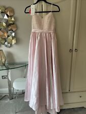 Girls pink JJ's House Custom made Prom party bridesmaid dress suit age 15 to 17