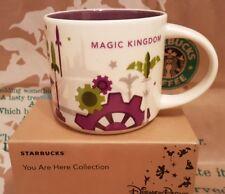 Starbucks Coffee Mug/Tasse Disney's Magic Kingdom v3 You Are Here/YAH, nouveau I. neuf dans sa boîte!