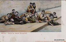 # NAPOLI - COSTUMI: DOLCE FAR NIENTE ( scugnizzi)