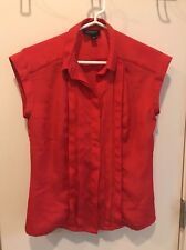 Jason Wu For Target Red Blouse XS