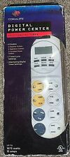 NEW! Coralife Digital Power Center 24/7 Digital Timer 8 Outlets 7 Time Cycles
