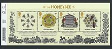 GREAT BRITAIN 2015 THE HONEYBEE MINIATURE SHEET WITH  BARCODE UM.MNH