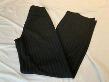 ST JOHN COLLECTION BLACK WHITE TICK PANTS SZ 8