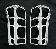 CHROME TAIL LIGHT LAMP COVER TRIM ISUZU DMAX D-MAX HOLDEN RODEO UTE PICKUP 2012
