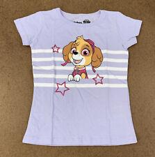 Nickelodeon Paw Patrol Toddler Girls Size 4T Lavender Graphic Print T-Shirt
