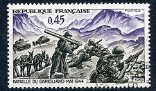 STAMP / TIMBRE FRANCE OBLITERE N° 1601 VICTOIRE DE GARIGLIANO
