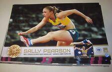 Sally Pearson (Australia) signed Gold Medal London 2012 Print - Signed + COA