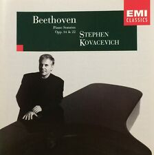 STEPHEN KOVACEVICH Beethoven, Piano Sonatas 8-11 CD EXCELLENT