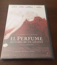 EL PERFUME HISTORIA DE UN ASESINO - 1 DVD - 142 MIN - NUEVO EMBALADO NEW SEALED