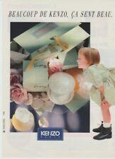 Publicité papier - advertising paper - Le Monde est Beau de Kenzo