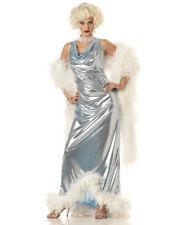 Women SILVER SCREEN GODDESS Marilyn Monroe Movie Star CA Costume SMALL - NEW