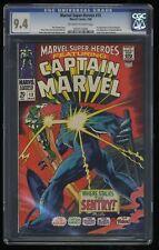 Marvel Super-Heroes #13 CGC NM 9.4 Off White to White 1st Carol Danvers! Comics