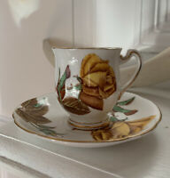 Beautiful Vintage Tea Cup and Saucer, Royal Standard, English Rose