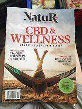 "Nature ""CBD & WELLNESS Magazine 7/10/20 New  . B6"