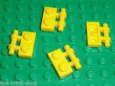 LEGO yellow Plate 1 x 2 with Handle 2540 / Set 4514 7249 7721 7047 4959 4950 ...