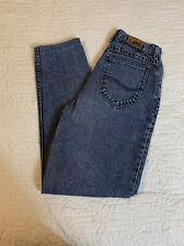 Vintage Lee Blue Jeans Women Size 10 Long Denim Pants