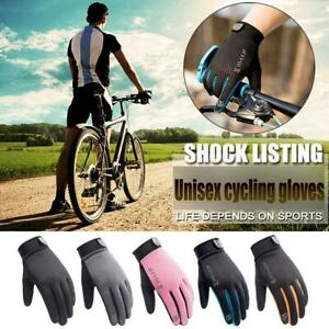 Anti-slip Cycling Gloves Full Finger Bike Bicycle Cycle Mitts Outdoor