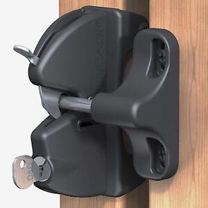 TruClose Lockable Security Latch for Wooden Garden Gates & Doors LLAARB