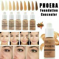 PHOERA Soft Matte Full Coverage Liquid Foundation Concealer Longlasting AU~