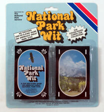 1992 National Park Wit Card Game Factory Set in Blister (108 Cards)