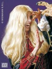 Long Blonde Wig Pop Star Celebrity Witch Halloween Fancy Dress