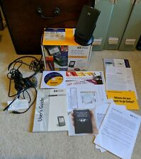 HP Jornada 548 Win CE Handheld PDA - With All Accessories. Vintage Pocket PC.