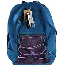 Vans Snag Plus Backpack Bookbag Tile Blue Cordura Hiking School