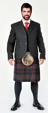 "48"" Spirit Of Bruce  5 Yard Wool Kilt Made in Scotland Stock Clearout Bargain"