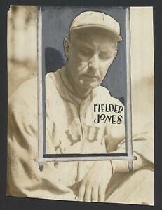 1914 Fielder Jones St. Louis Terriers Federal League- Vintage Baseball Photo