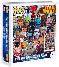POP STAR WARS COLLAGE PUZZLE - JIGSAW 1000 PIECES BRAND NEW  48 X 67 CM