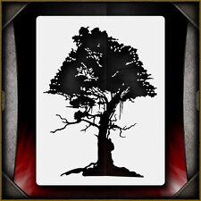 Oak Tree 3 -  Airbrush Stencil Template Airsick