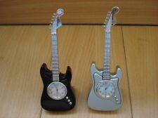 Guitar Clock (Silver or Black)