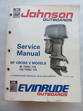 1991 OMC Johnson Evinrude 507949 85-115 150-175 90CV Service Manual OEM Marine