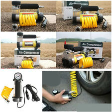 12V 100PSI Air Compressors For Car Tyre, Ball , Swimming ring,Bicycle 35 L/MIN