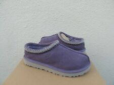 UGG TASMAN PURPLE SAGE SUEDE/ SHEEPSKIN SLIPPERS/ SHOES, WOMEN US 8/ EUR 39 ~NIB