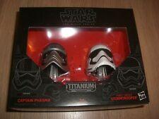 Star Wars Black Series Helm-Set mit Captain Phasma & Stormtrooper NEU Hasbro