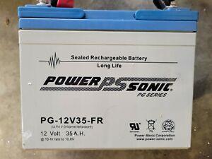 Power Sonic PG-12V35-FR Battery