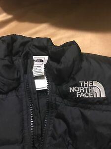 north face newborn downfilled puffer coat 0-3M