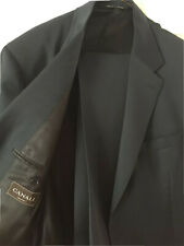Canali Men's Suit Made in Italy  44L 38x33  Blue 100% Wool