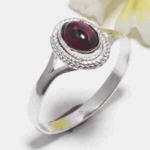 Red Onyx Gemstone 925 Sterling Silver Handmade Jewelry Ring Size 9 HS 7535
