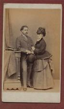 Southport. Chester Photographic Artist.  Couple. CDV  photograph  zk.133