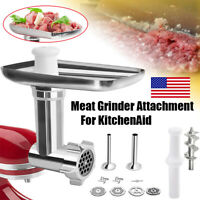 Metal Food Meat Grinder Accessory Sturdy Attachment For Kitchen Aid Stand Mixers