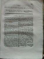 1795 NUOVO GIORNALE D'ITALIA: GUIDA PER I VIAGGI DEI NATURALISTI E MINERALOLOGI